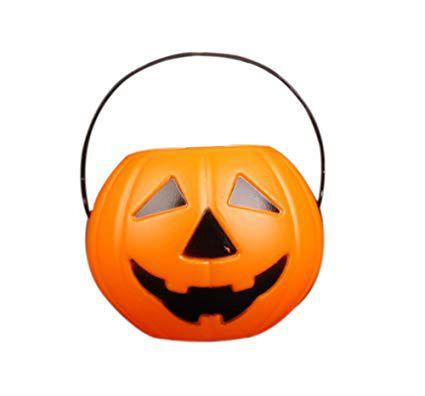 Balde de Abobora Grande Halloween - 01 Unidade