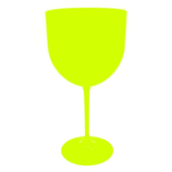 Taça Gin 580ml - Amarelo Neon