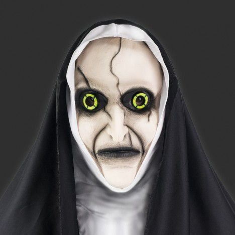 Máscara Látex Halloween - Freira Assassina