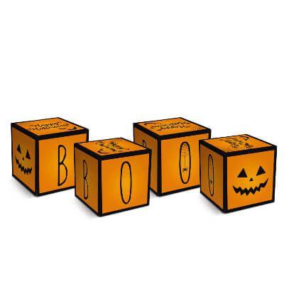 Caixa Cubo Halloween - 08 unidades