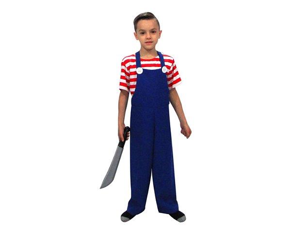 Fantasia Infantil - Chucky - Halloween - 6 anos