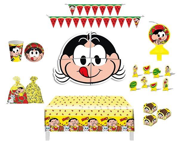 Kit Decoração Festa Completa Para 8 Crianças - Magali