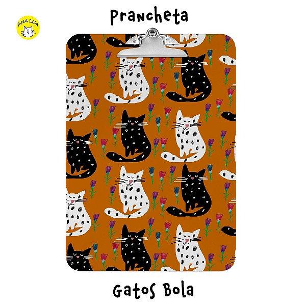 Prancheta Gatos Bola