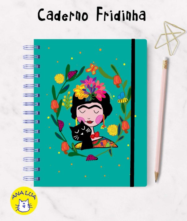 Caderno Fridinha