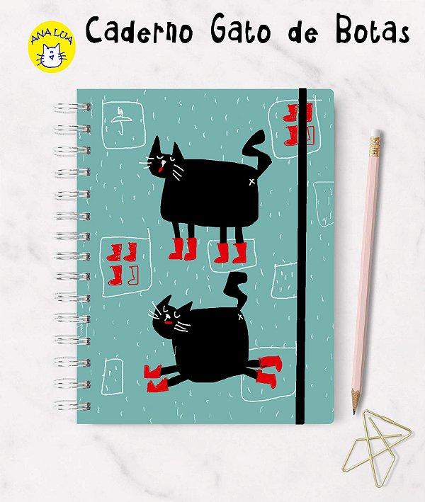 Caderno Gato de Botas