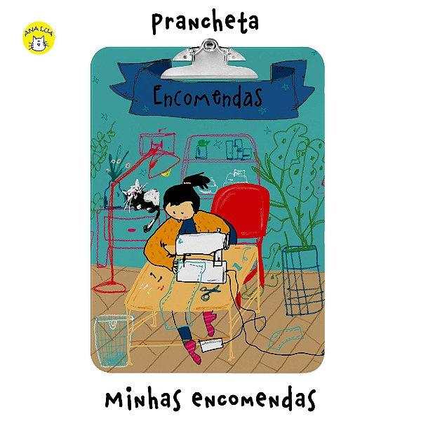 Prancheta Encomendas