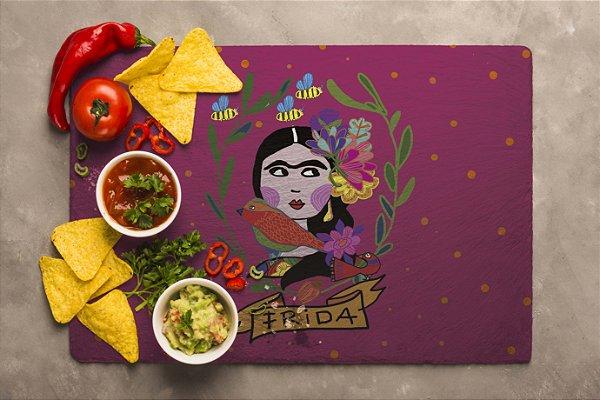 Jogo Americano Frida rosa