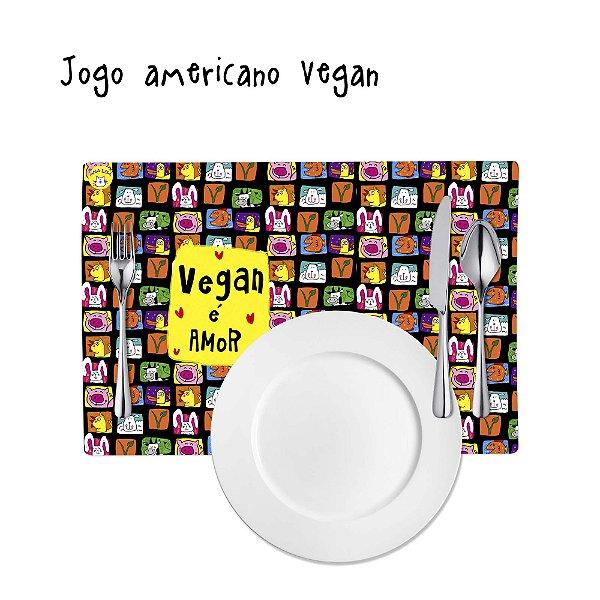Jogo Americano Vegan