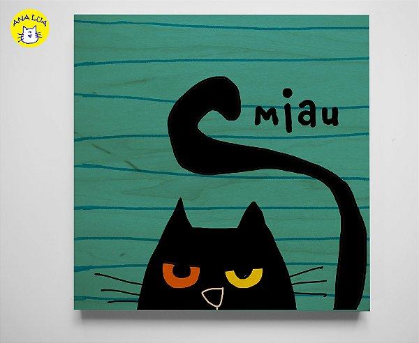Quadrinho  Miau