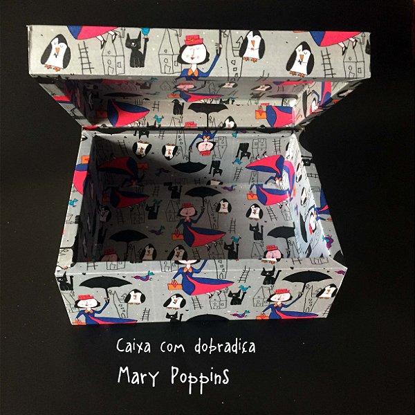 Caixa com dobradiça Mary Poppins