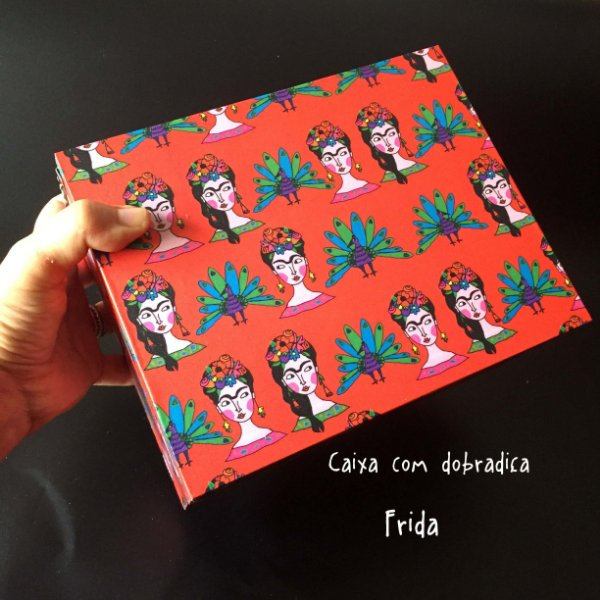 Caixa com dobradiça Frida