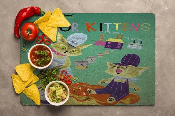 Jogo Americano Color Kittens