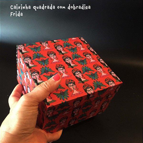 Caixa Quadrada com dobradiça Frida