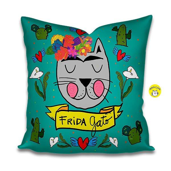 Capa de Almofada  Frida Gato