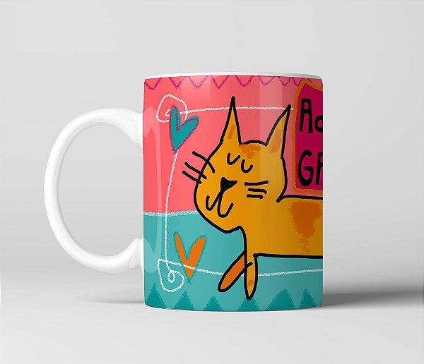 Caneca Adoooooooro gatinhos