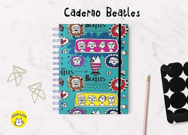 Caderno Beatles