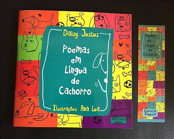 """Livro Infantil """" Poemas em língua de Cachorro"""""""