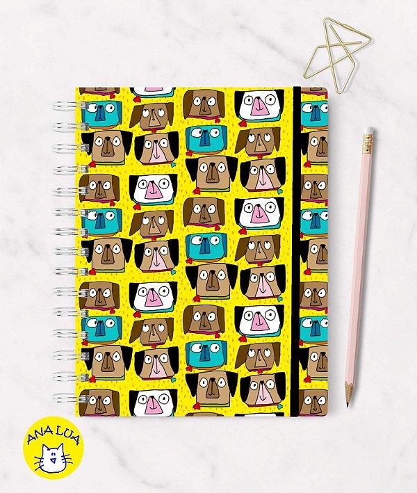 Caderno Cachorrinhos Olhudos