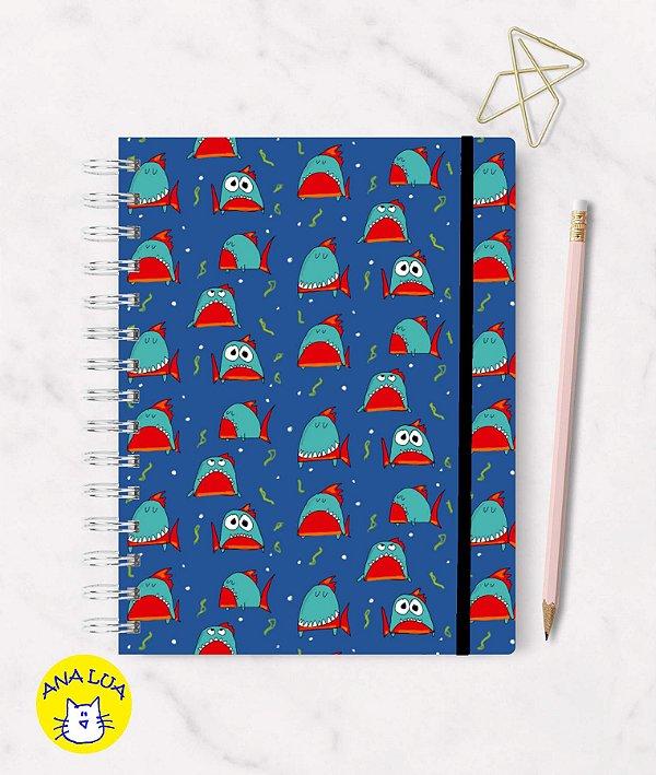 Caderno Piranhas!