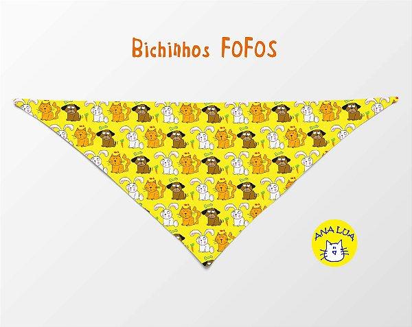 Bandana Bichinhos Fofos