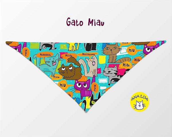 Bandana Gato miau