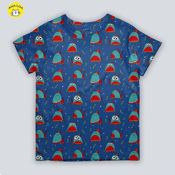 Blusinha infantil Piranhas!
