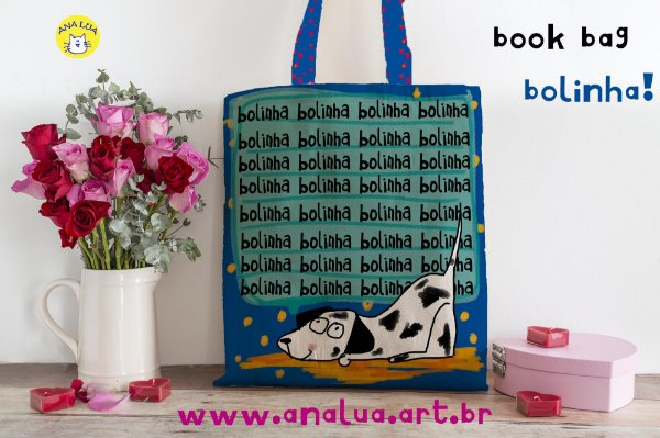Book Bag Bolinha!