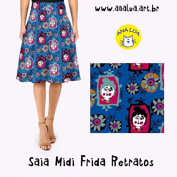 Saia Midi Frida retratos