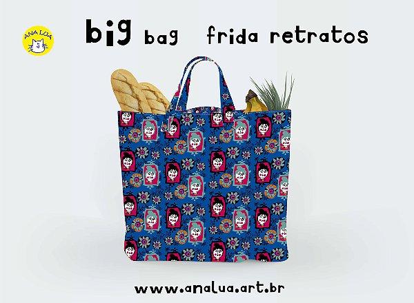 Big Bag Frida Retratos
