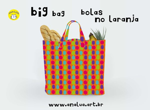 Big Bag Bolas no laranja