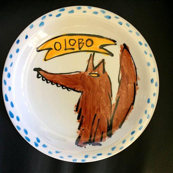 Pratinho de sobremesa O Lobo