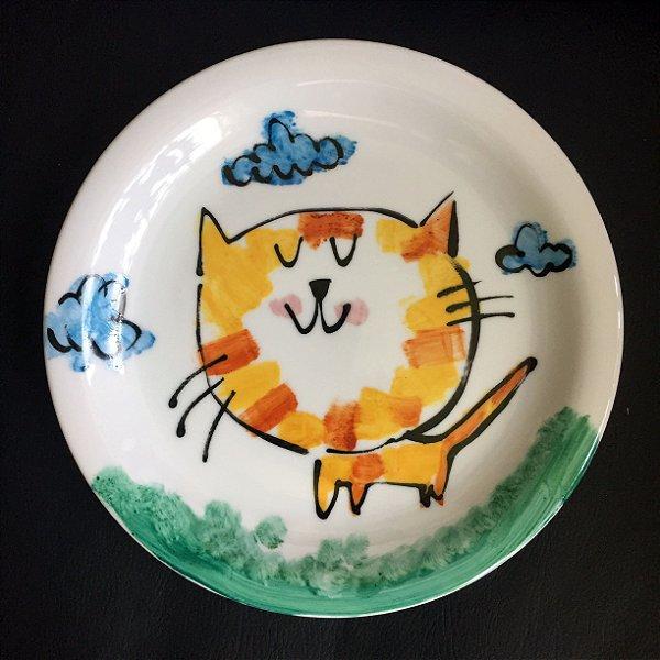 Pratinho de sobremesa Miau