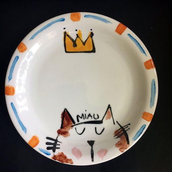 Pratinho de sobremesa Gato