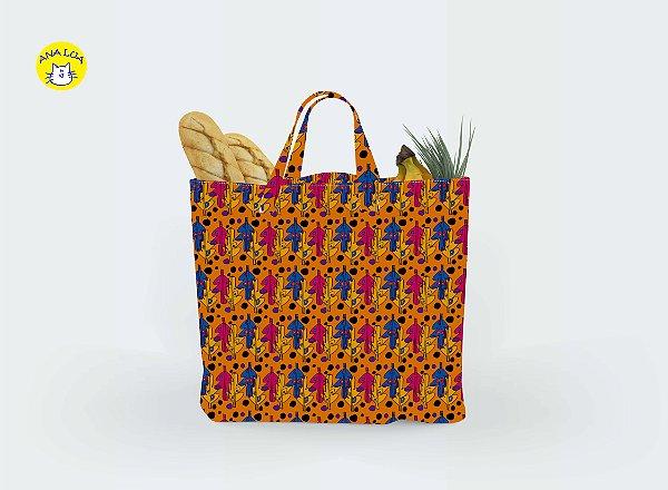 Big Bag Folhas Laranja