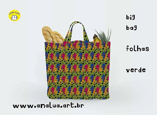 Big Bag Folhas Verde