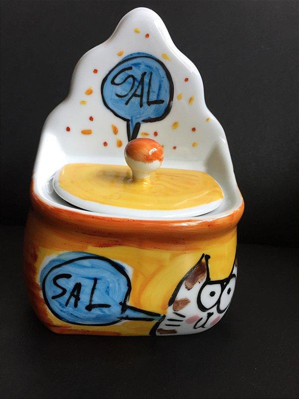 Saleiro Gato - Sal