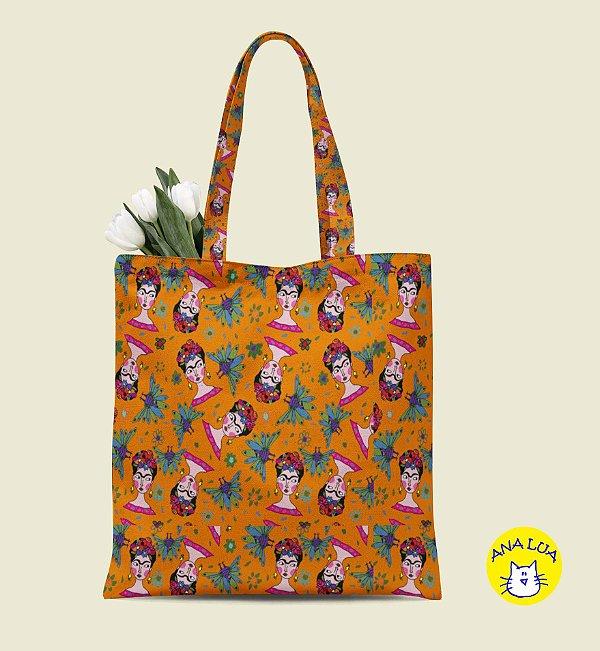 Book Bag Frida - laranja