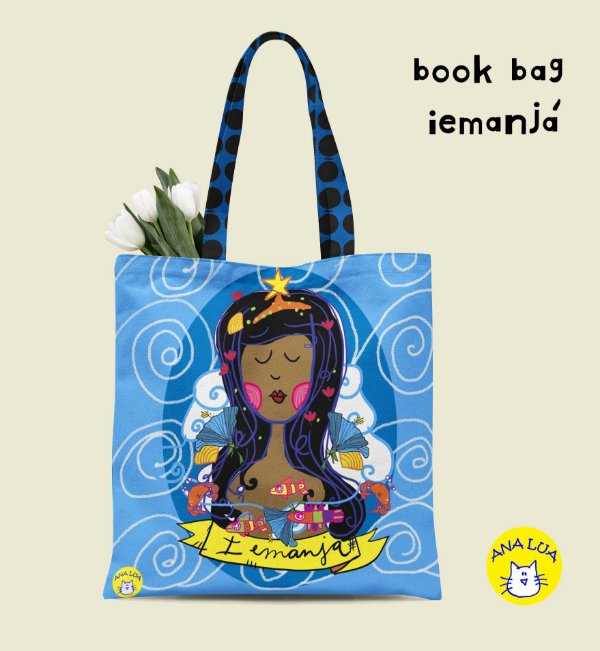 Book Bag Iemanjá