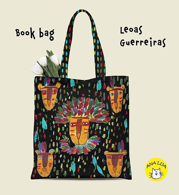 Book Bag  Leoas Guerreiras
