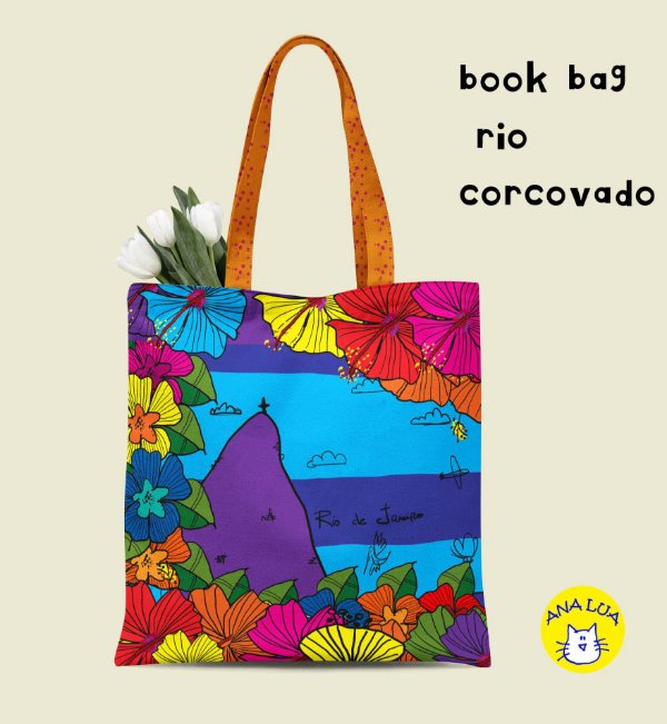Book Bag Rio Corcovado