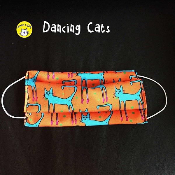 Máscara Dancing Cats