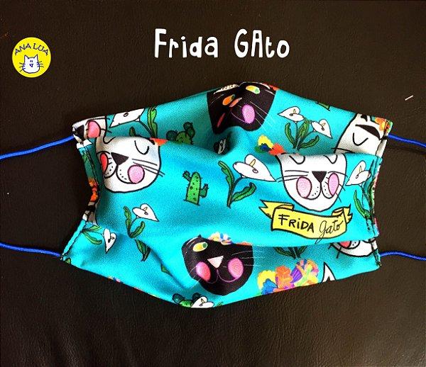 Máscara Frida GAto
