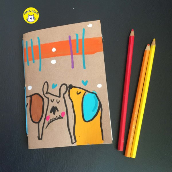 Caderninho  Muitos Cachorrinhos