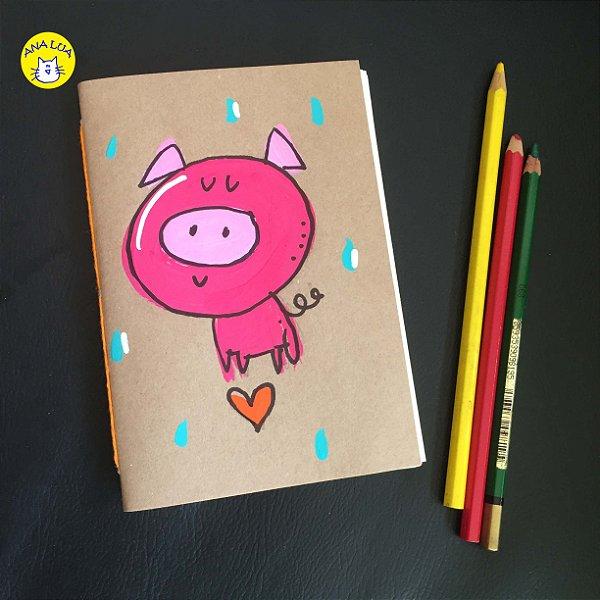 Caderninho  Porquinho