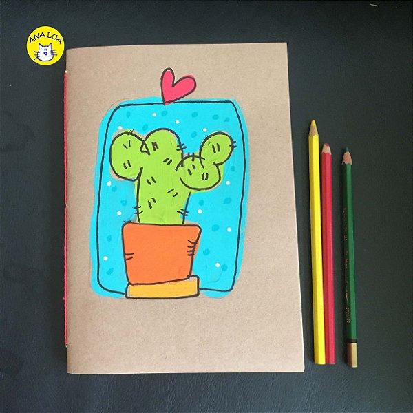 Caderno Cactus