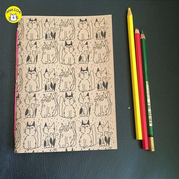 Caderninho Gatinhos variados