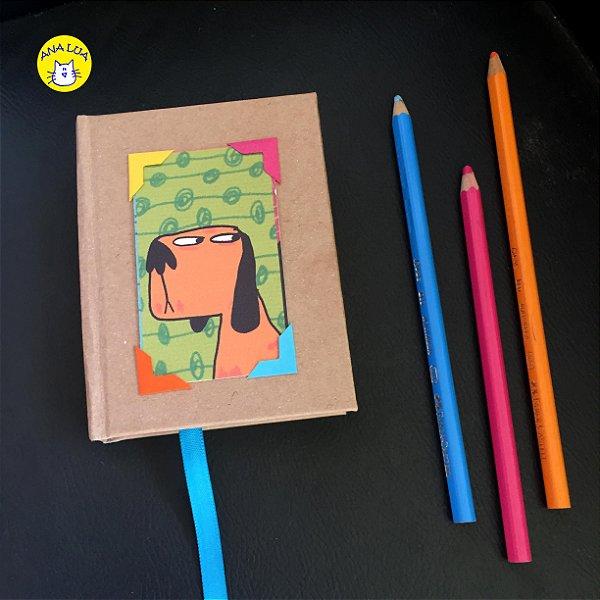 Mini moleskine Cachorros - retratos
