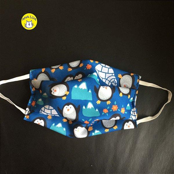 Máscara  Pinguins felizes