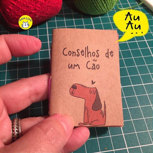 Mini livrinho Conselhos de um Cão