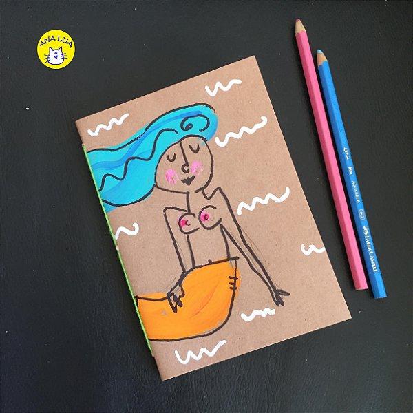 Caderninho  Sereia